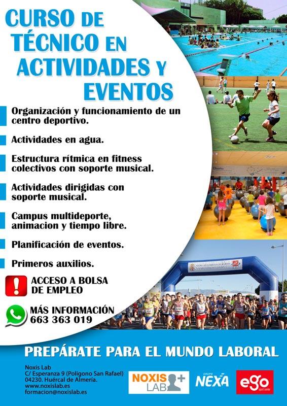Curso Tecnico Actividades y eventos