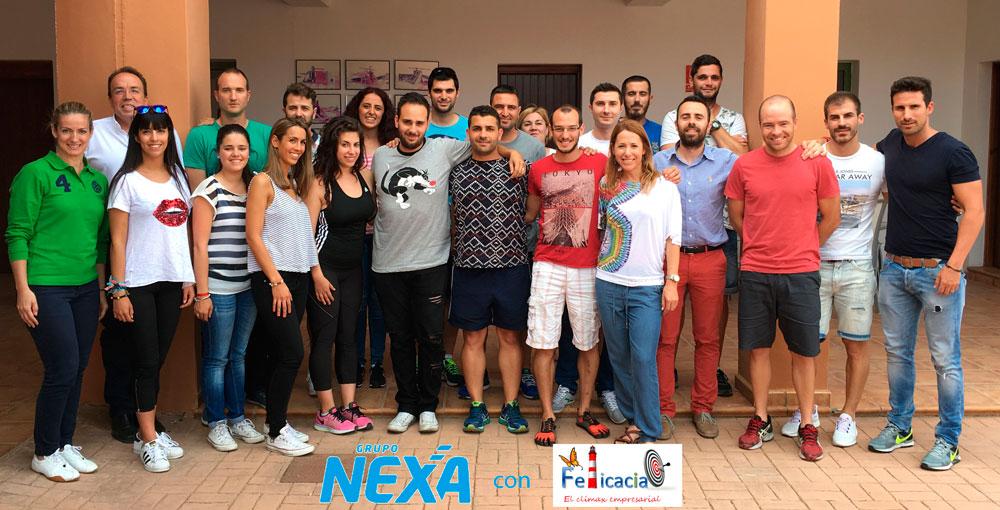 Grupo Nexa felicaz jornadas de formacion y convivencia